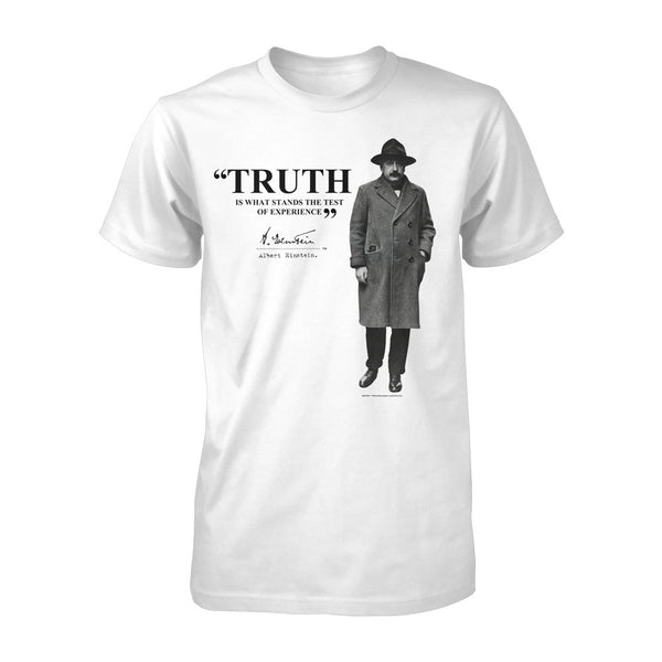 Einstein Truth Quote Tee