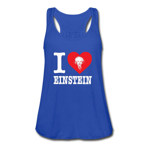 I (Heart) Einstein Women's Flowy Tank Top
