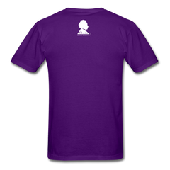 Einstein Portrait Tee - purple