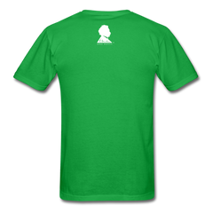 Einstein Portrait Tee - bright green