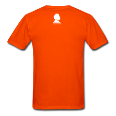 Einstein Portrait Tee - orange