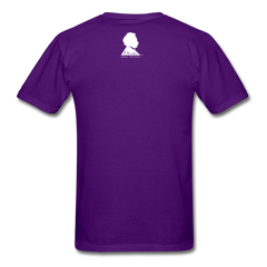 Keep Calm and Study Physics Tee - purple