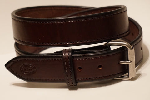 Heavy duty gun belt (brown)