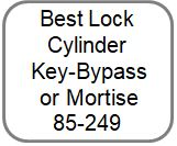 Best Lock Cylinder Key-Bypass or Mortise