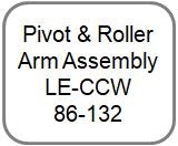 Pivot & Roller Arm Assembly - LE-CCW