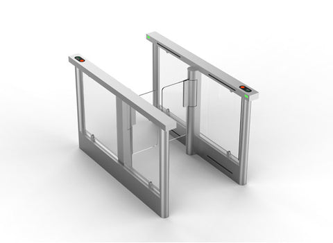 TPW-322CS Optical Glass Swing Gate