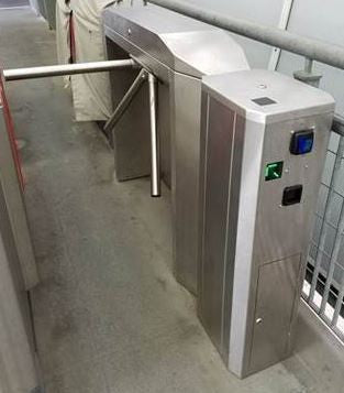Coin Operated Turnstile