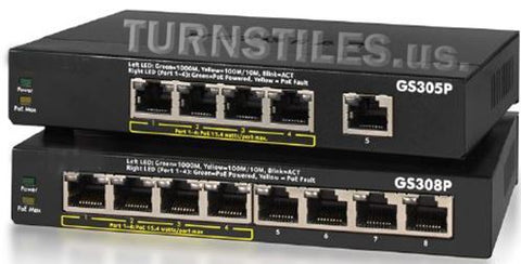 EntraPASS5-Port Gigabit PoE Unmanaged Switch
