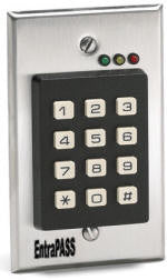 Turnstile Keypad & Lock Vandle-Proof