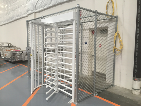 High Security Fence Cage System