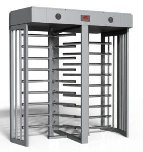 Turnstiles HIGH SECURITY MODEL DOUBLE LANE TTF 413D