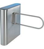 EX100-R: Corporate Series Waist High Turnstiles and ADA Swing Gates