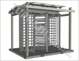 PORTABLE TANDEM TURNSTILE w/Canopy