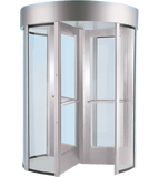 MONITOR RD70: Full Height Turnstiles in Aluminum with Lexan