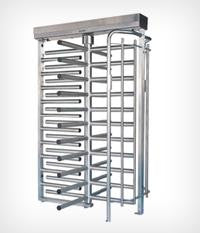 TITAN FULL HEIGHT INDUSTRIAL TURNSTILE - 4 / 3 Arms - single/double