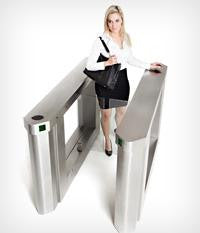 SpeedGate Kinetic - Waist Hight Turnstile