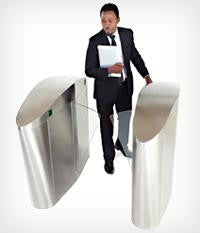 SpeedGate Express Waist High Turnstile