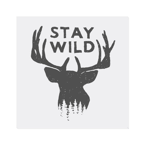 Stay Wild - 10x10 Canvas Wall Art