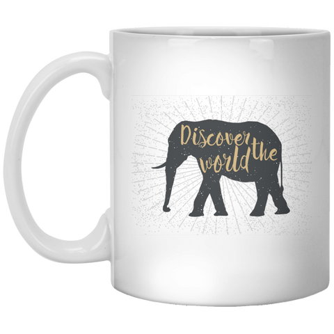 Discover the World - 11 oz. Mug