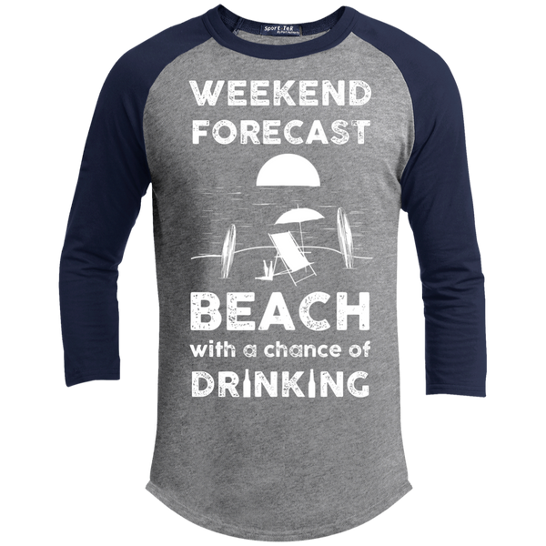 Beach Drinking Sporty T-Shirt