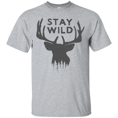 Stay Wild Mens T-Shirt
