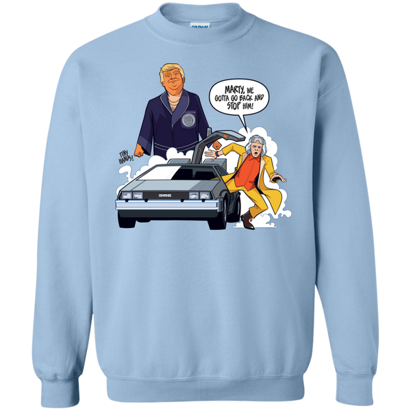 Marty, We Gotta Go Back! - Crewneck Sweater