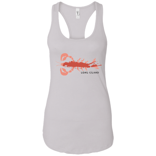 Ladies Long Island Racerback Tank