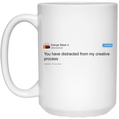 15 oz. Creative Process White Mug