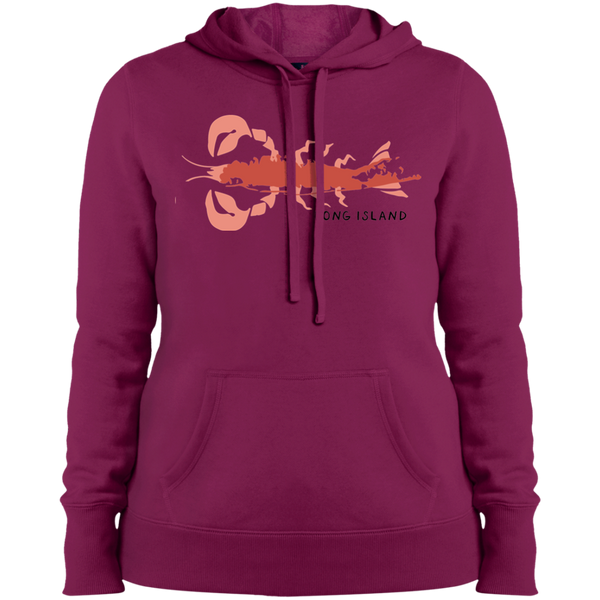 Ladies Long Island Pullover Hooded Sweatshirt