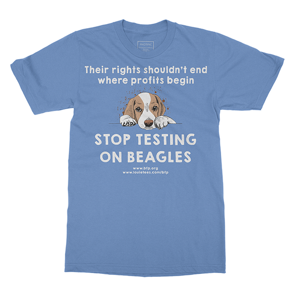 Stop Testing On Beagles - Help Us Tee