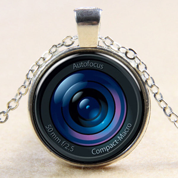 Photography Lens Necklace