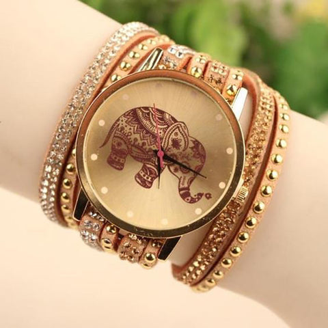 Relogio Feminino Tribal Elephant Watch
