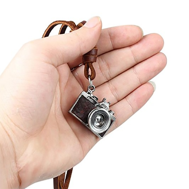 il camer charm jewelry camera necklace vintage photography listing