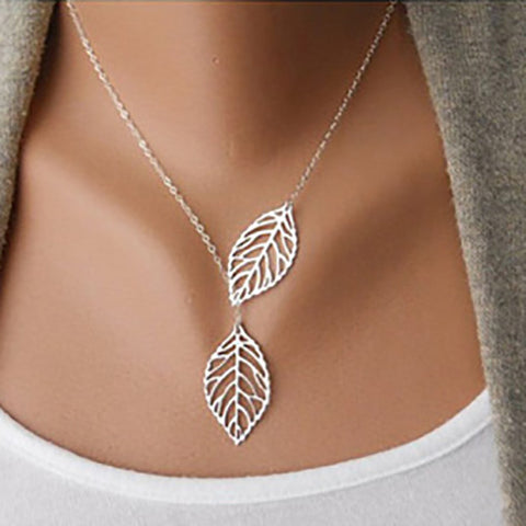 Leaves in the Wind - Necklace