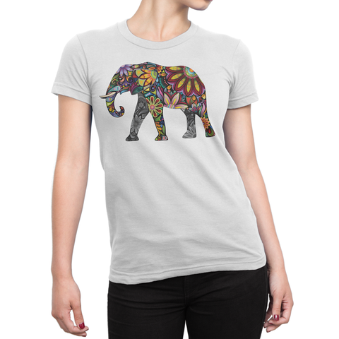 Tribal Elephant Tee