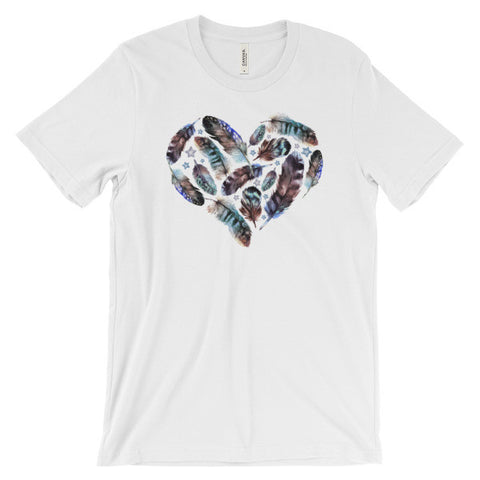 Feather Heart Women's Tee