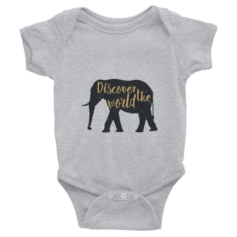 Infant Discover the World Bodysuit