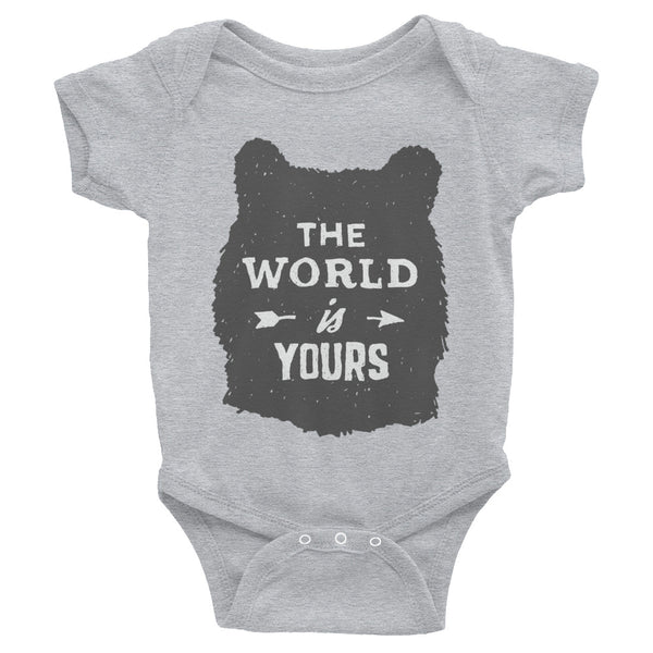 Infant The World is Yours Bodysuit