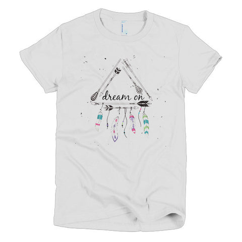 Dream On - American Apparel Women's Tee