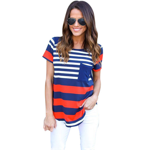 Ladies USA Tee