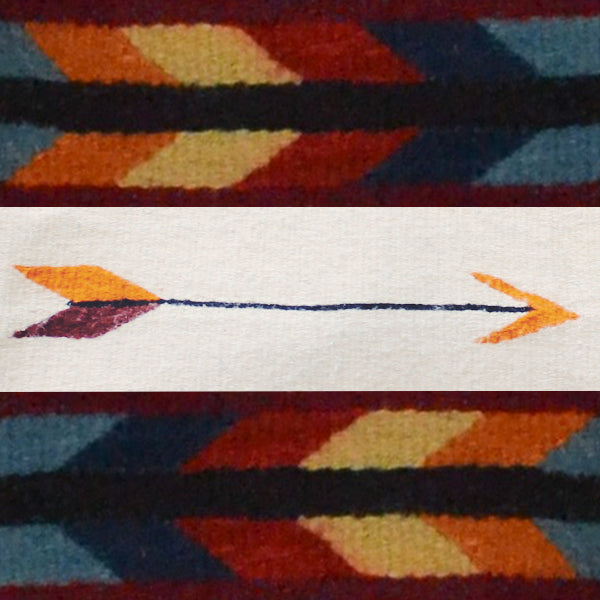 Zapotec Arrow Design