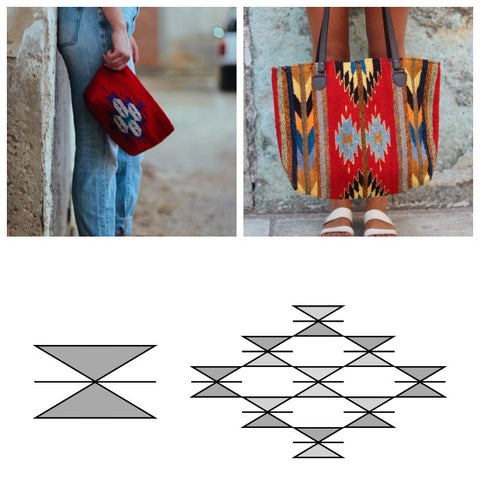 Zapotec butterfly design