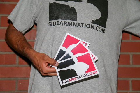Sidearmnation Sticker