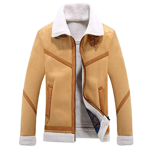 Autumn / Winter Vintage Luxury Warm Jacket