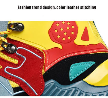 Trend Thick Bottom Mixed Colors Sneakers