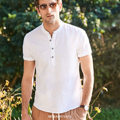 Linen Summer Shirt (available in 5 colors)