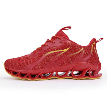 "New Running Shoes ""Surges of Flames"""