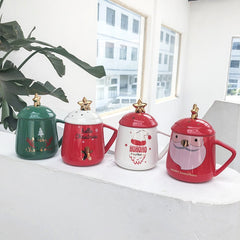 Hot Christmas Theme Ceramic Mugs