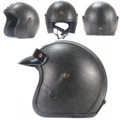 RETRO SCORPION HELMET - Black