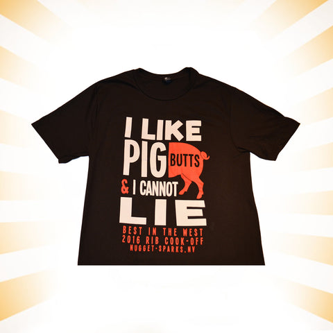 I like Pig Butts Men's T-Shirt